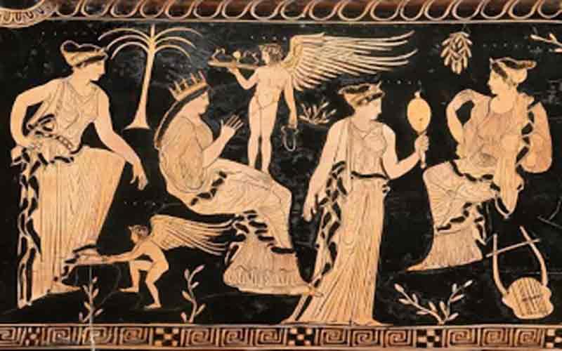Αποτέλεσμα εικόνας για Ο Πελασγικός μύθος της Ευρυνόμης